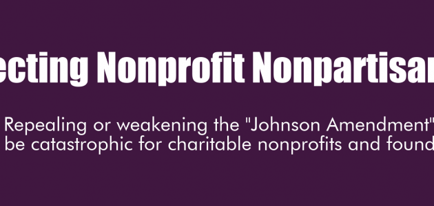 Nonprofit Nonpartisanship Under Attack