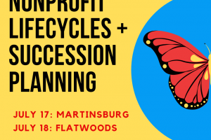 Summer Workshops: Nonprofit Lifecycles & Succession Planning
